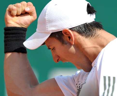 Ténis: Djokovic vence e espera por Roddick ou Federer