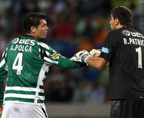 Sporting: Patrício com queixas, oito indisponíveis