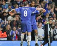 Lampard e Drogba, Chelsea vs Liverpool