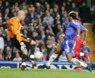 Drogba e Reina, Chelsea vs Liverpool
