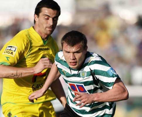 Sporting: Izmailov ainda inapto, Tiuí com queixas