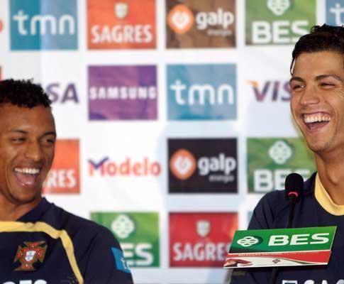 Everton quis ter Ronaldo à experiência; Nani vetado no «Boro»