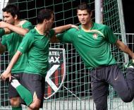 Portugal treina antes da Rep. Checa