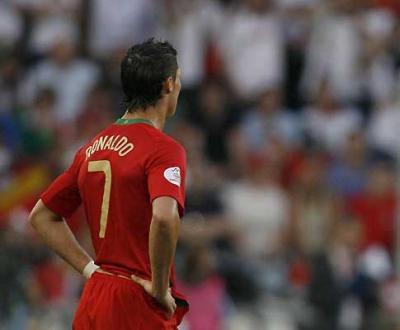 Alemanha 3 - 2 Portugal @ Euro2008. Cristiano Ronaldo
