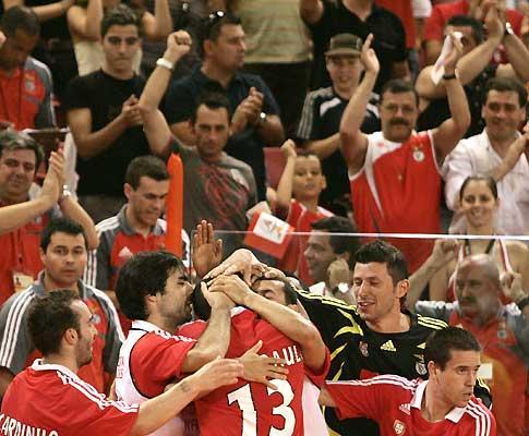 Futsal: Benfica e F.J. Antunes lideram, Belenenses cai para 3º
