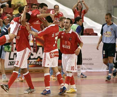 Futsal: Benfica goleia Instituto D. João V (9-1)