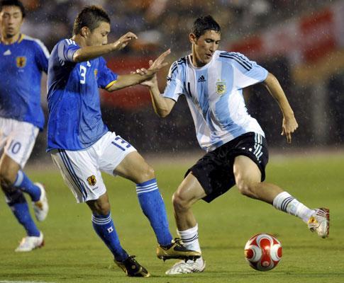 Argentina goleada (6-1): Lucho marcou, Di María foi expulso!
