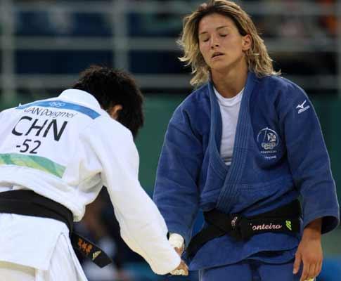 Judo: Telma Monteiro é a nova campeã da Europa
