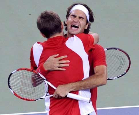 Monte Carlo: Wawrinka afasta amigo Federer na terceira ronda