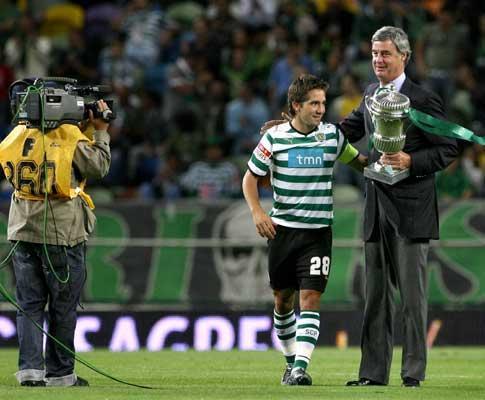 Moutinho renovou: quem mudou? capitão ou presidente?
