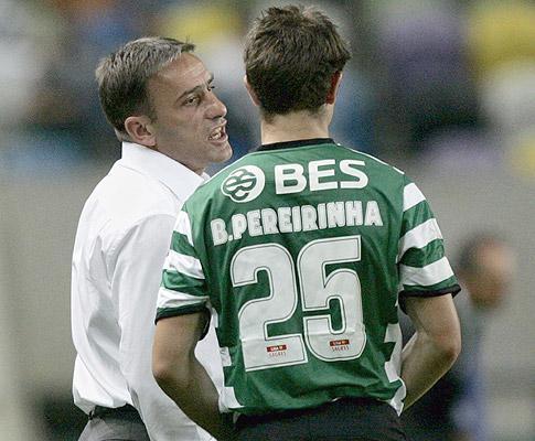 Sporting: Pereirinha assume que F.C. Porto «está muito forte»