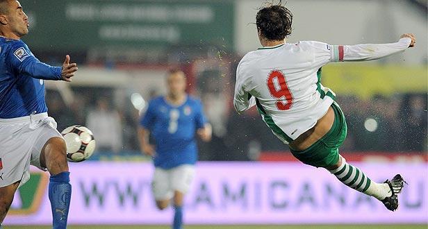 Berbatov falha jogo da Bulgária e é dúvida para o F.C. Porto