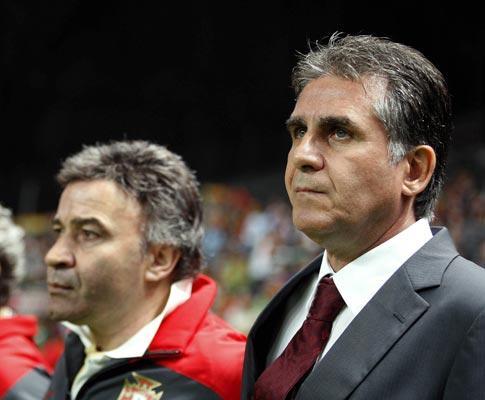 Mourinho seria o treinador do «presidente» Carlos Queiroz