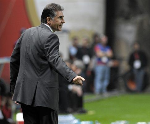 Riade: legado «que sustentou sucessos» futuros, diz Queiroz