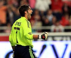 Benfica-Penafiel: Moreira festeja no final