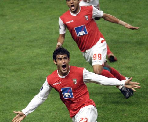 Sp. Braga-Portsmouth, 3-0 (crónica)