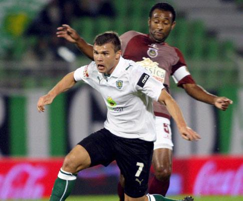 Sporting: Izmailov limitado no arranque para o Algarve