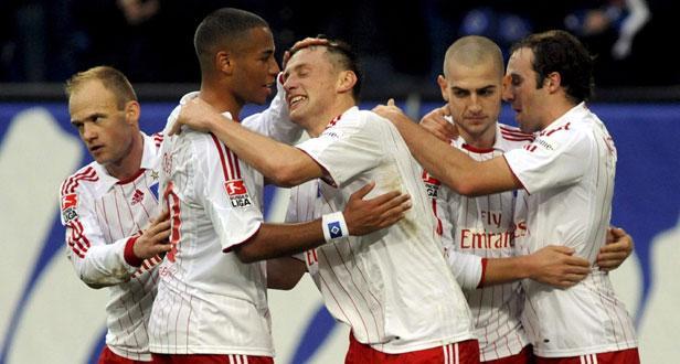 Taça UEFA: Hamburgo vira resultado em Istambul (3-2)