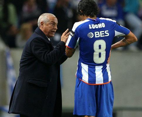 Jesualdo: «Porto vai ganhar sem Lucho o que já ganhou com ele»