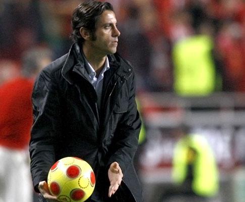 Benfica: Quique só repetiu o «onze» três vezes