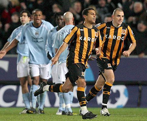 Treinador do Hull City em apuros por causa de Geovanni