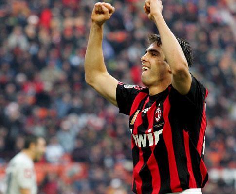 Kaká no Milan: regresso com meio ano de atraso