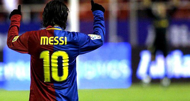 Messi: «Ficarei no Barcelona enquanto me quiserem»