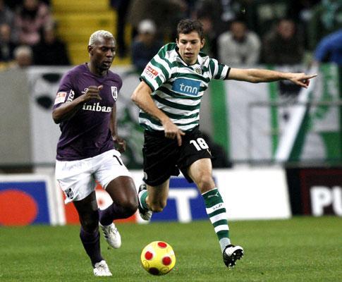 Sporting: Liedson apto, Vukcevic e Grimi de fora