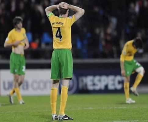 Escócia: Celtic falha meia-final da taça