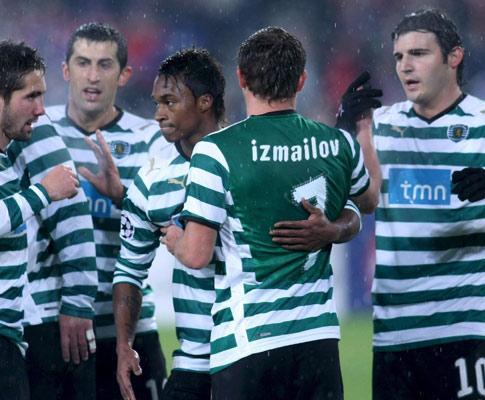Sporting: Izmailov no ginásio, Pedro Silva e Derlei inaptos