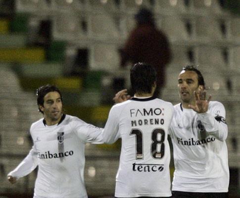 V. Guimarães: Flávio Meireles e Santana de fora com Leixões