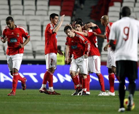 Benfica apresenta 9,3 milhões de prejuízo