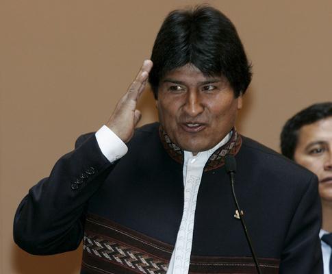 Presidente da Bolívia preferia ter perdido com a Argentina
