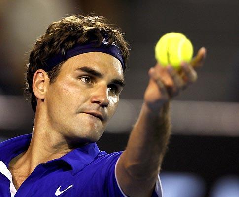 Ténis: Federer nas meias de Miami, mas filho pode atrapalhar