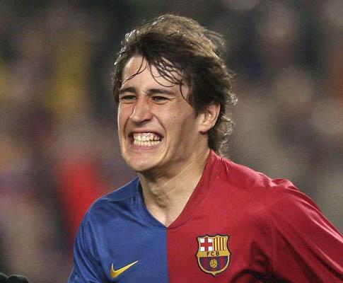 Espanha: jovem Bojan bisa na vitória do Barcelona em Almería