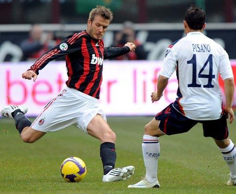 Beckham: «Ancelotti tem estudado inglês, mas não melhora»