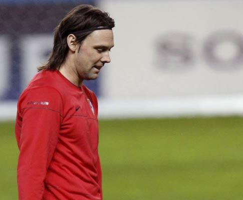 At. Madrid: «Maniche volta quando estiver em condições»