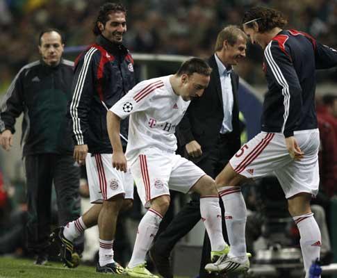 Bayern: Ribery queixa-se e Beckenbauer desconfia