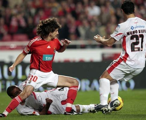 Benfica-Leixões, 2-1 (destaques)