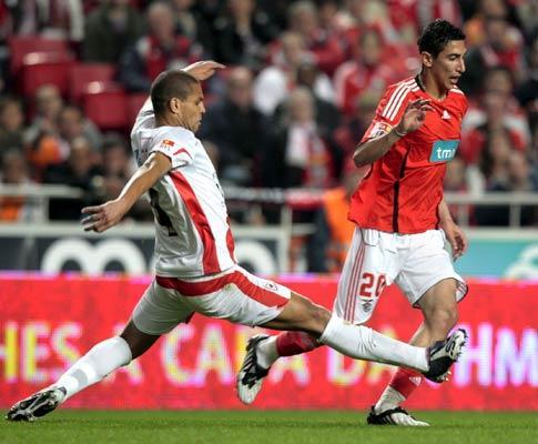 Benfica-Leixões, 2-1 (ficha)