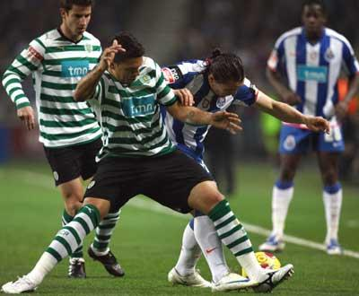 F.C. Porto-Sporting, 0-0 (destaques do F.C. Porto)