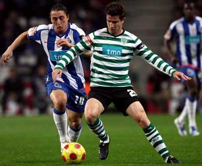Sporting-P.Ferreira: Pereirinha titular, Vukcevic no banco