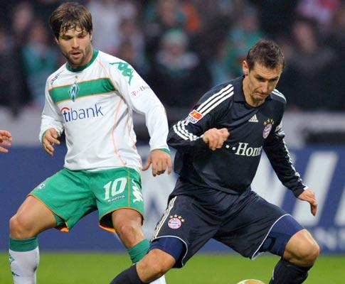 Taça UEFA: Diego volta a bisar e coloca W. Bremen nas «meias»