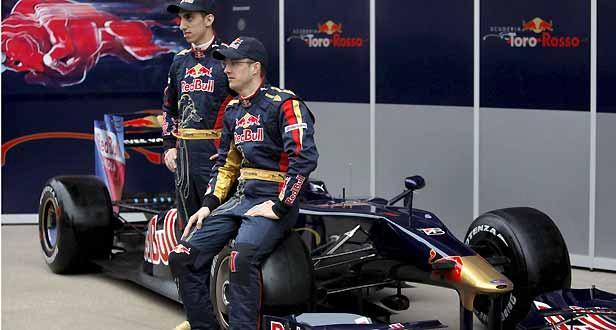 Fórmula 1: Toro Rosso foi a última equipa a apresentar carro