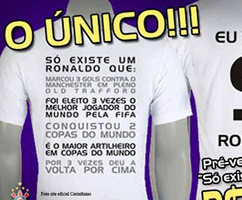 «Guerra» de Ronaldos: Cristiano ou o Fenómeno?