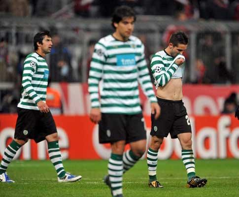 Sporting: equipa insultada à chegada a Lisboa