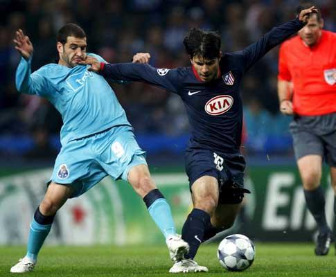F.C. Porto-At. Madrid, 0-0 (destaques)