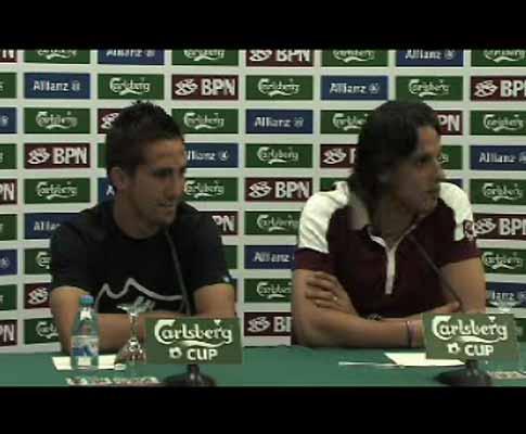 Nuno Gomes: «Paulo Bento é excelente, Quique é óptimo»