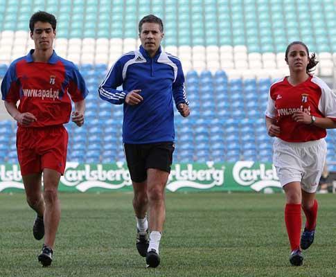 Taça da Liga: dois «aprendizes» a acompanhar Lucílio Baptista