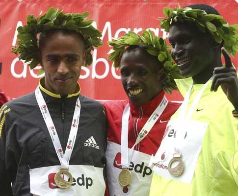 Meia maratona de Lisboa: queniano Martin Lel conquista ouro